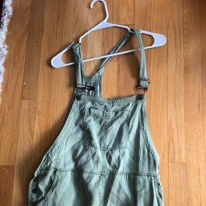 UO Green overalls